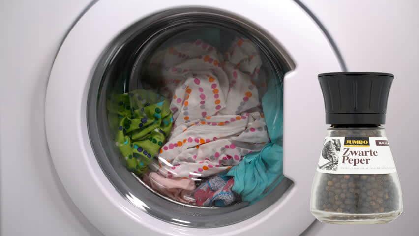 poivre noir machine a laver