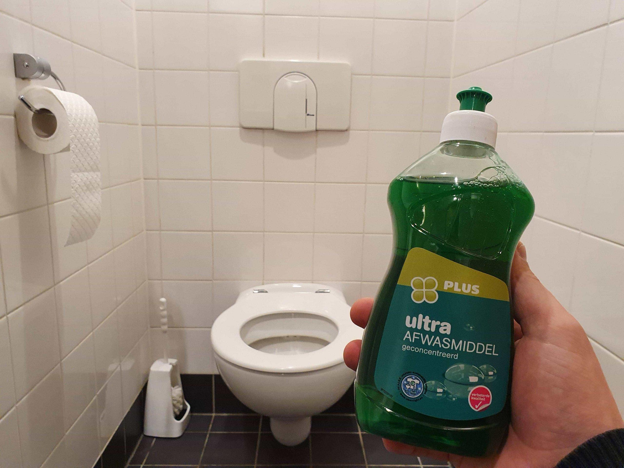 détergent toilette
